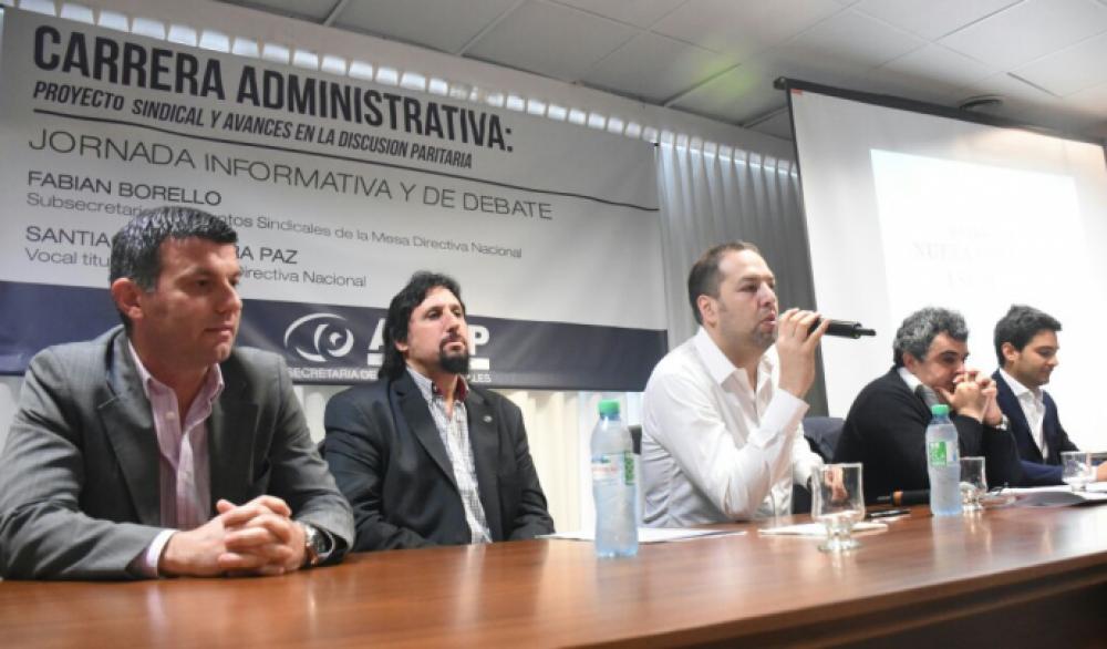 AEFIP debatió con trabajadores sobre carrera administrativa en el organismo