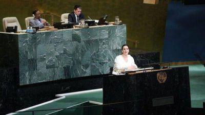 Gabriela Michetti ante la ONU: renovó el reclamo por Malvinas, habló de la crisis en Venezuela y pidió apoyo internacional para juzgar a los iraníes