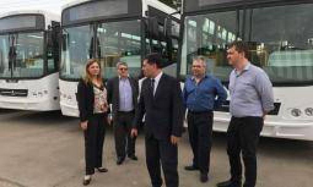 Se suman 20 unidades 0km al servicio de colectivo urbano