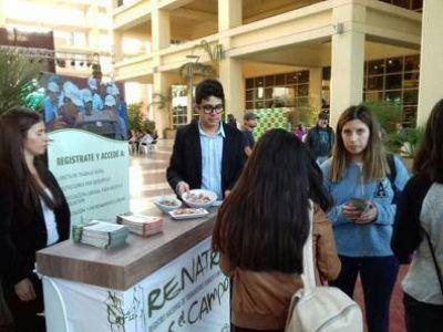 El RENATRE San Juan participó de AgrOliva 2017