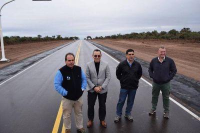 Quedaron inauguradas las rutas que unen Sumampa - Pinto y Telares - Sumampa