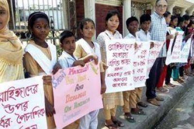 Cristianos, musulmanes, hindúes y budistas manifiestan unidos a favor de los Rohingyas