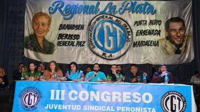 Renovaron las autoridades de la Juventud Sindical Peronista Regional