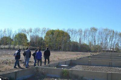 Representantes del ENOHSA visitaron la Planta de Tratamiento