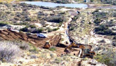Zona norte: se reparó el acueducto