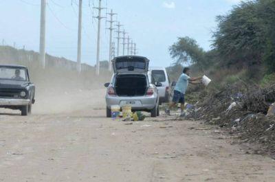 Retienen autos y multan hasta en $15.000 por arrojar basura