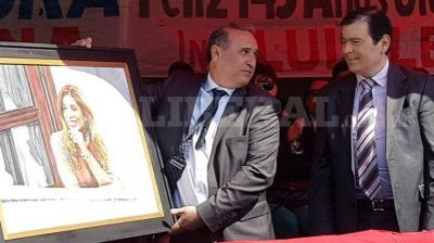 Gerardo Zamora participó del 143º aniversario de Frías