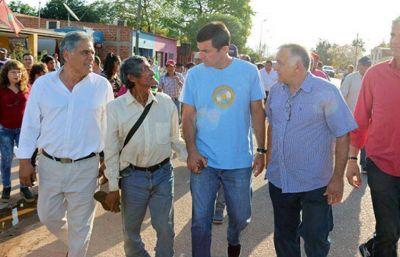 Urtubey inauguró obras del Plan del Bicentenario en General Pizarro