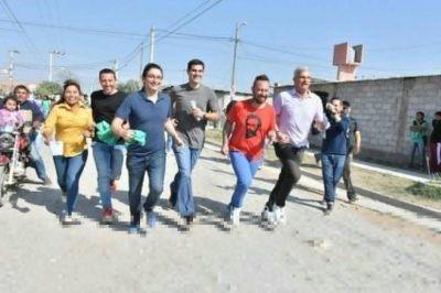 Los candidatos del Frente Unidad y Renovación visitaron la zona sudeste