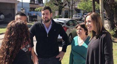 Vidal, Graciela Ocaña y Lucas Delfino timbrearon en Hurlingham