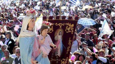 Comenzó la celebración del 34º aniversario de la Virgen de San Nicolás