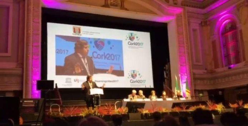 """Cátedra inspirada por Francisco llevó mensaje de """"Laudato Si"""" a foro internacional en Irlanda"""