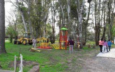 Continúan las obras y mejoras en el Parque Urbano de Lima