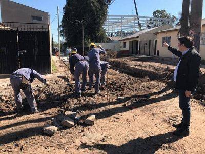 Nuevas obras de pavimentación en los barrios de General Rodríguez