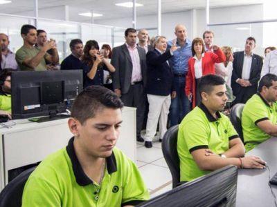 Molina y Bullrich inauguraron el Centro Único de Monitoreo