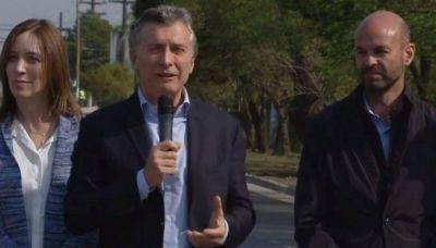 """Macri y Vidal intensifican visitas en """"distritos amigos"""""""