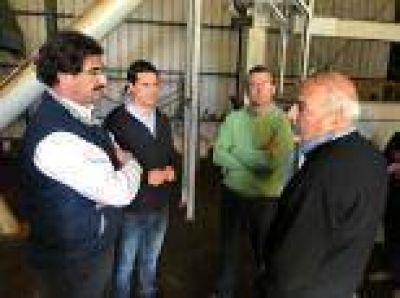 Rauch: Diputado Maximiliano Abad destacó la decisión del Gobierno de concretar obras para evitar inundaciones