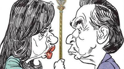Cristina apuesta a pelear con Pichetto por el control de la bancada peronista