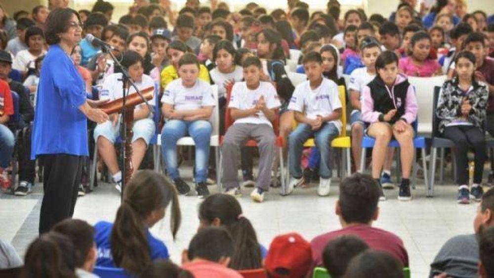 Lucía dejó inaugurada una nueva temporada estival en el CIIC