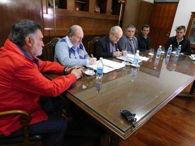 Ríos: le pusieron la firma al convenio para una segunda etapa