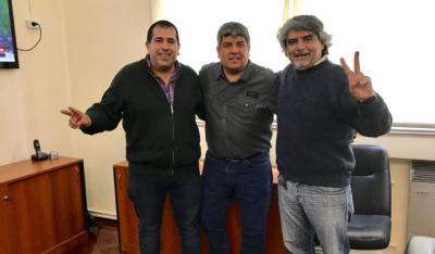 Pablo Moyano recibió a referentes de la Corriente Federal en la CGT