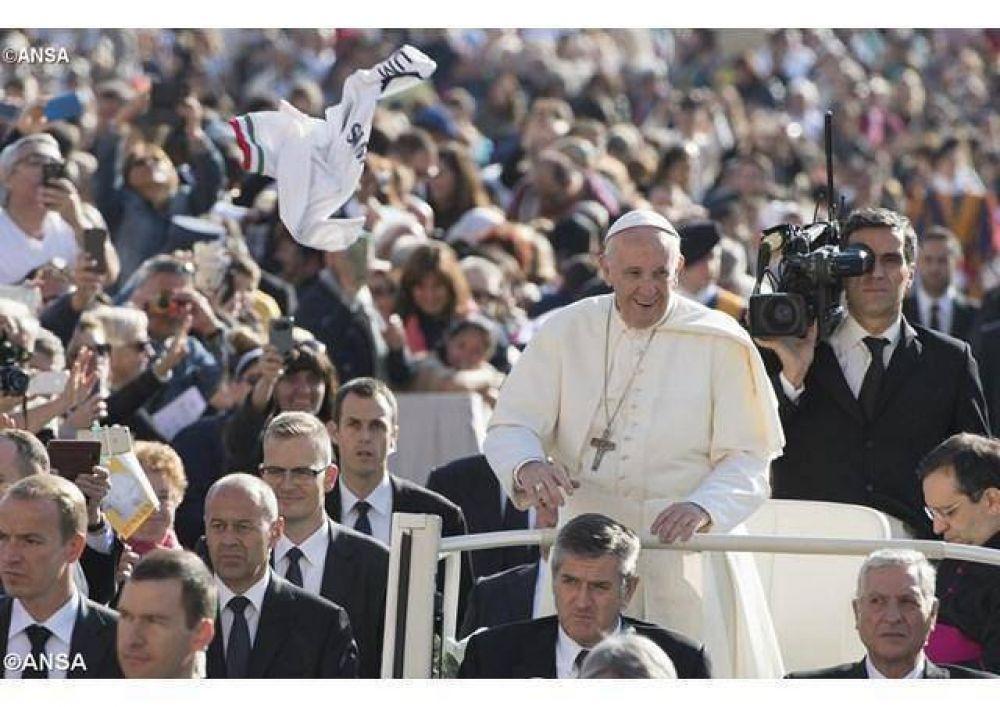 """El Papa en la catequesis: """"La esperanza es la virtud que empuja a todos a compartir el viaje de la vida"""""""