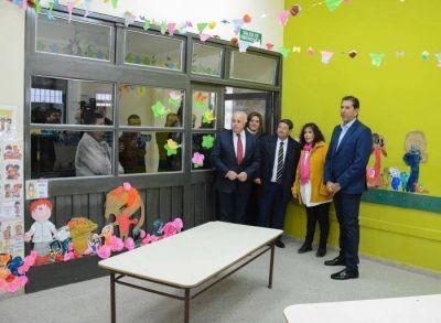 Más de $22M en remodelaciones para la escuela Eleazar Videla de Pocito