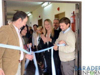 Inauguraron obras en el Hospital Lino Piñeiro