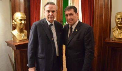 Pichetto se comprometió con Casas a restituir en el congreso los fondos compensatorios para La Rioja