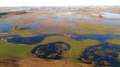 Las inundaciones pegan fuerte en la patria sojera de la Provincia