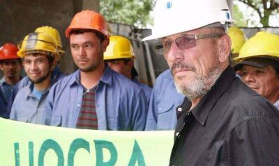 El Gobierno ya negocia con la UOCRA el reemplazo del Pata Medina en La Plata