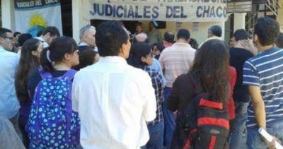 Tras la apertura del diálogo, se levantó el paro de los judiciales chaqueños