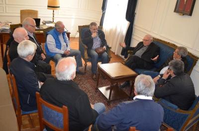 La CGT le llevó a la Iglesia su inquietud por una reforma laboral