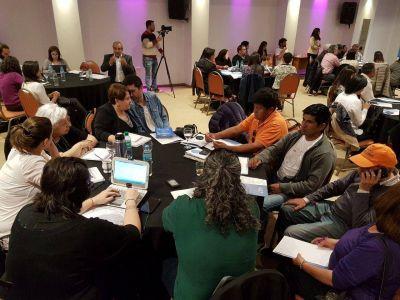 Ladrilleros participaron del último encuentro preparatorio hacia la IV Conferencia Mundial Contra el Trabajo Infantil
