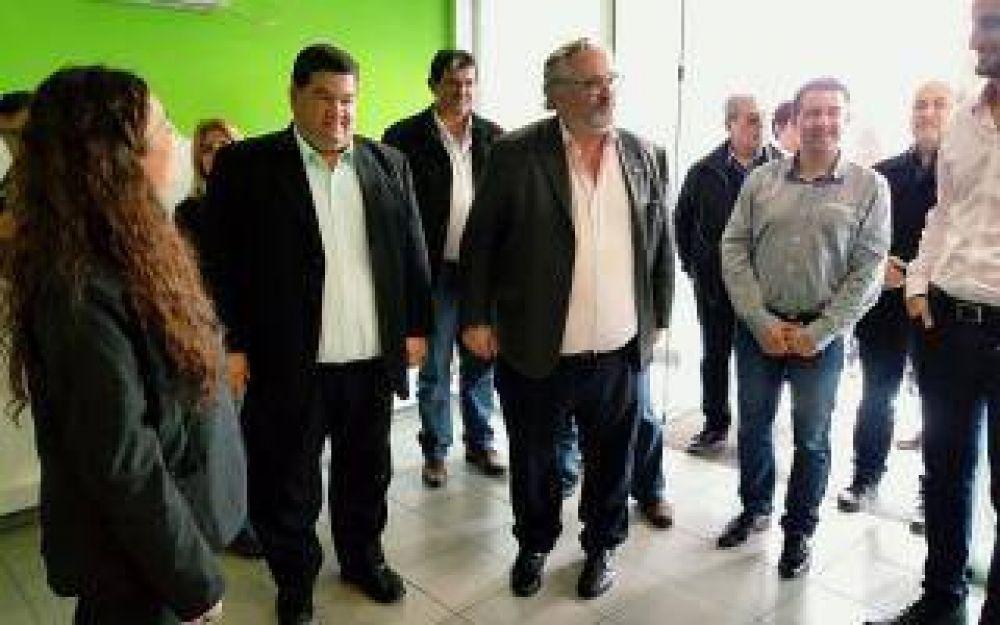 Berisso: Nedela recibió a Joaquín de la Torre en el distrito