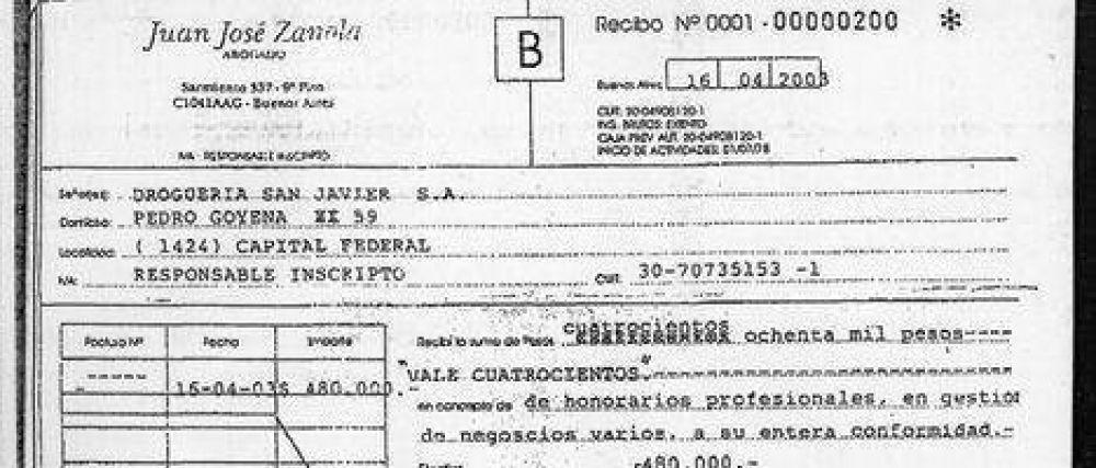 Nuevos documentos revelan el vínculo cercano que tiene Zanola con Lorenzo