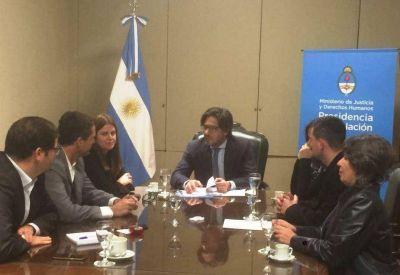 El Intendente de Concordia le propuso al ministro Garavano que el Juzgado Federal funcione en el ex policlínico ferroviario
