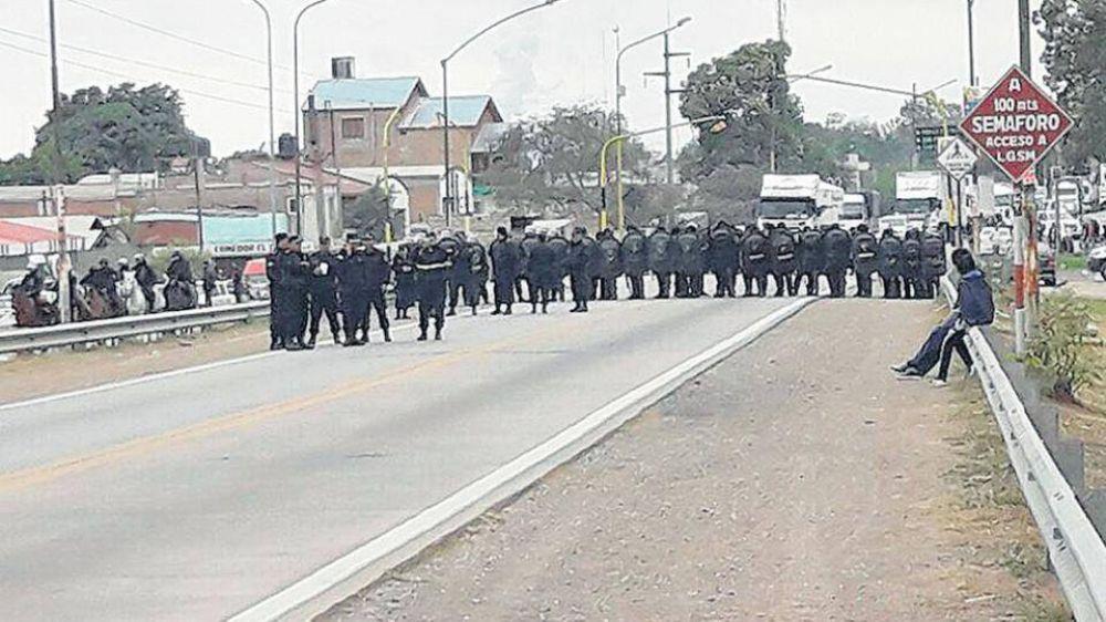 Represión en Jujuy