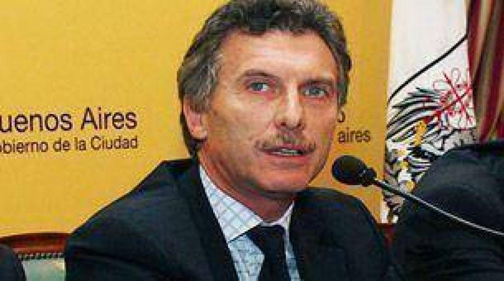 Ante la falta de fondos Macri priorizará su gestión en seguridad, desarrollo social y tránsito