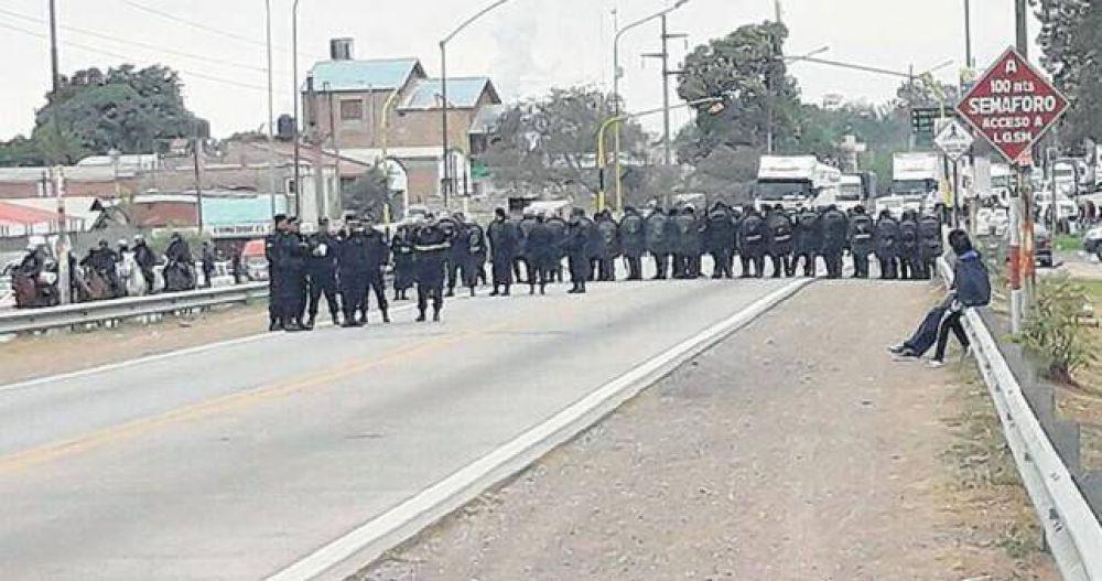 Tras la represión, extienden la huelga en Ledesma