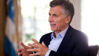 Macri no le cierra la puerta a la reelección en 2019