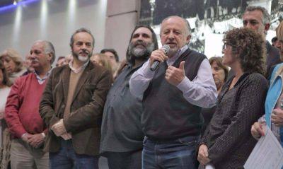 Cumbre del sindicalismo duro en la asunción de Baradel a la CTERA