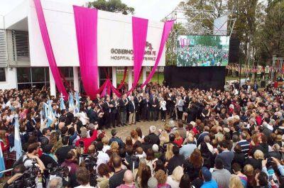 Lifschitz inauguró el nuevo hospital de Venado Tuerto