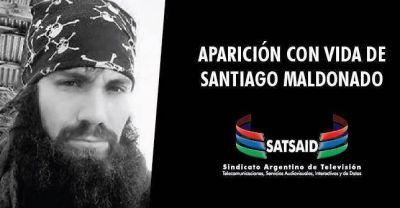 Trabajadores de Telefé denuncian que les prohibieron pedir por Santiago Maldonado