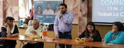 Exitoso Almuerzo Peronista en la Católica de Necochea