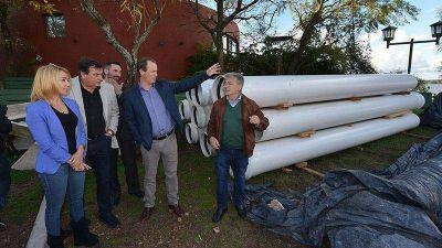 En Colón, el gobierno provincial ejecuta 13 obras de agua potable y saneamiento