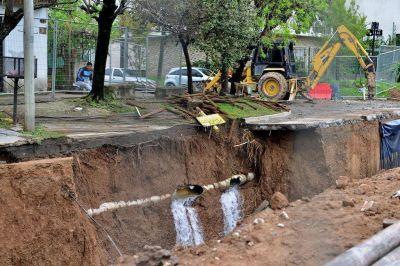 San Carlos sin agua por un acueducto destruido