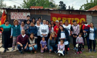 Romina Del Plá pasó por Pilar y llamó a votar por el Frente de Izquierda