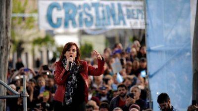 Cristina en Lanús: pidió al Gobierno que deje de