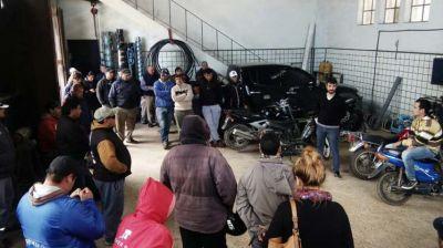 Los gremios municipales en asamblea y movilización